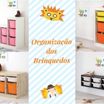 Organização dos brinquedos